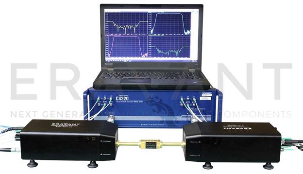 Устройство расширения диапазона рабочих частот 50-75 ГГц для векторных анализаторов электрических цепей (V-диапазона, 110 дБ дин. Диапазон, +5 дБм выходная мощность, WR-15 волновод, наименование STO-15203-U6).